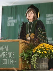 "Cristle Collins Judd, president of Sarah Lawrence College in Yonkers, said she has ""wrestled"" with how Larry Ray could have lived in on-campus housing for as long as he did."