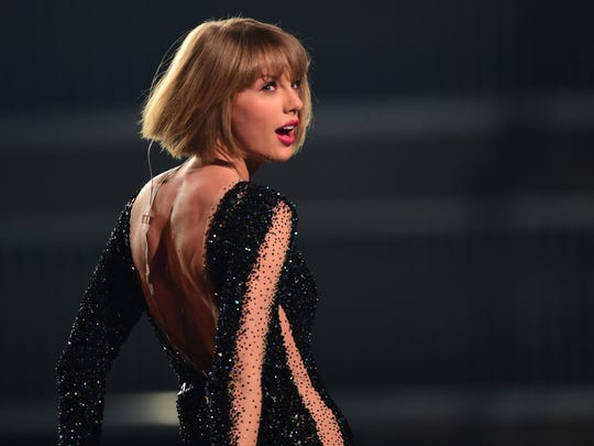 Singer Taylor Swift performs onstage during the 58th
