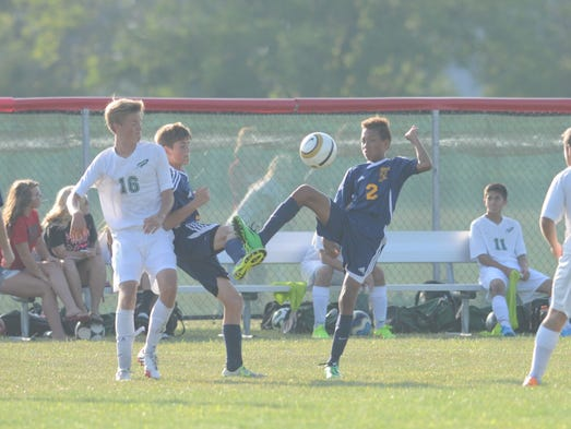 Boys Soccer: Woodmore at Oak Harbor, Monday, Aug 18, 2014