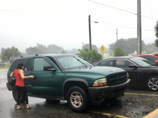 Scenes from the 7-Eleven at Midway Road and U.S.1 in