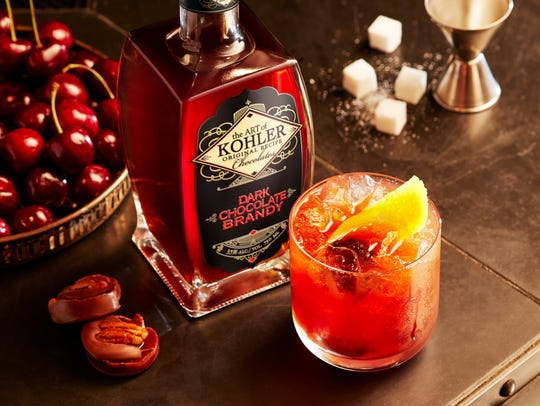 Kohler recently introduced a brandy infused with dark