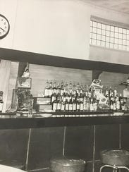 The way it was. Jack Ryan's bartop in the early 1970s