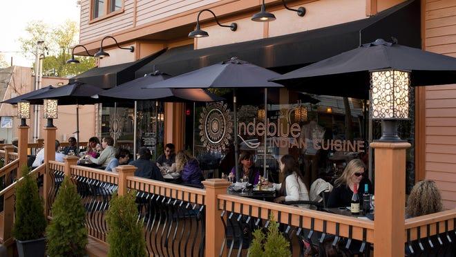 Inde Blue Restaurant in Collingswood