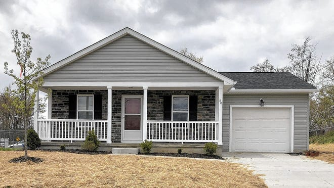 This house is one the Westerville Habitat Partnership completed in 2019 in the city of Delaware. The partnership has held a Tapestry of a Town tour as a fundraiser for projects such as this but this year's event will be a walking tour that people can complete on their time.