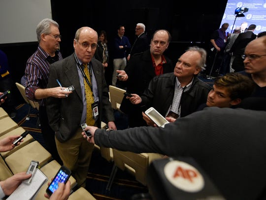 College Football Playoff executive director Bill Hancock says it was time for change.
