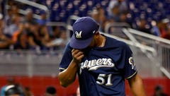 Marlins 5, Brewers 4: Offense can't rescue Peralta in extra-inning loss
