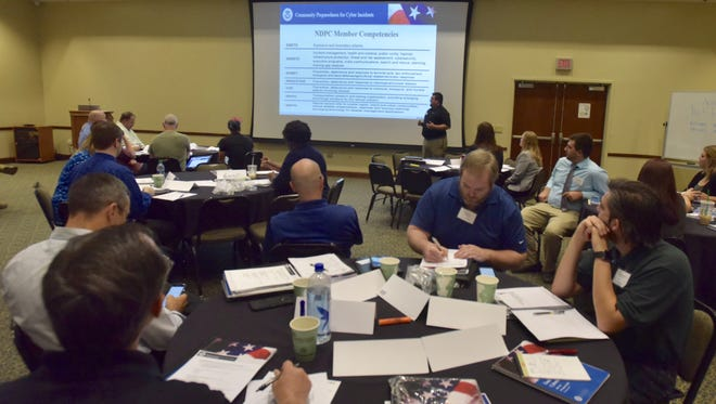 The University of West Florida's Center for Cybersecurity, Texas A&M University and the Florida Department of Law Enforcement organized a two-day training at the university.