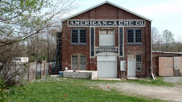 Reader Dianne Bowders share this photo in 2010 of the former American Acme Company in the Emigsville area of Manchester Township. American Acme was the successor to American Toy and Novelty Works, and among other items, the company produced many sleds. Read more about the business at www.yorkblog.com/onlyyork.