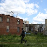 A housing project in Baltimore.