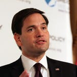 Sen. Marco Rubio, R-Fla., will become the first presidential candidate to visit the Mason Valley community of Yerington when he stops there Tuesday.