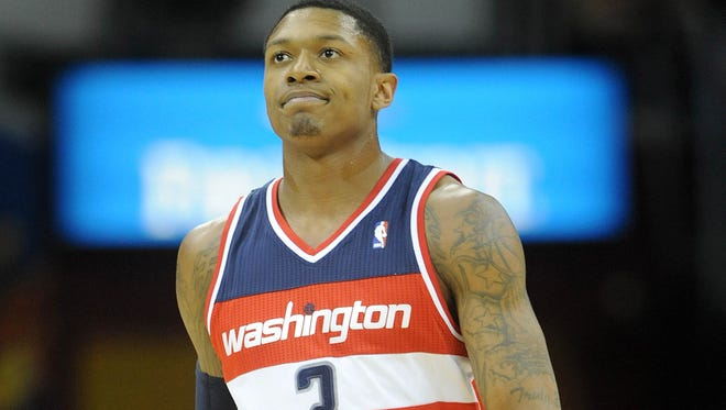 Washington Wizards shooting guard Bradley Beal is out at least a couple of weeks.