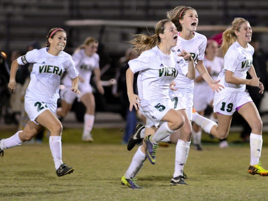 High School Soccer: Melbourne at Viera