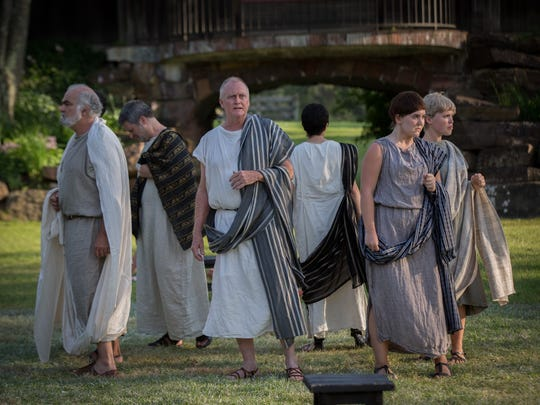 """The Vermont Shakespeare Festival production of """"Julius"""