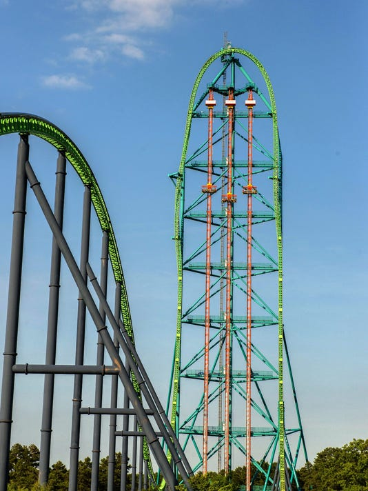 Six Flags In NJ Finally Opens Record Drop Ride