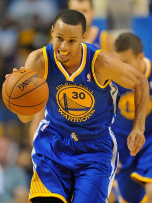 Warriors point guard Stephen Curry has turned heads with his shooting but also his overall play.