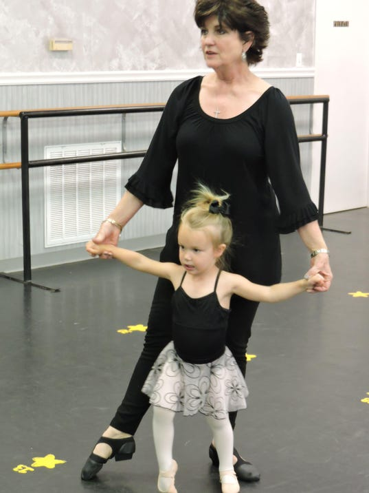 Debbie Bourg with granddaughter