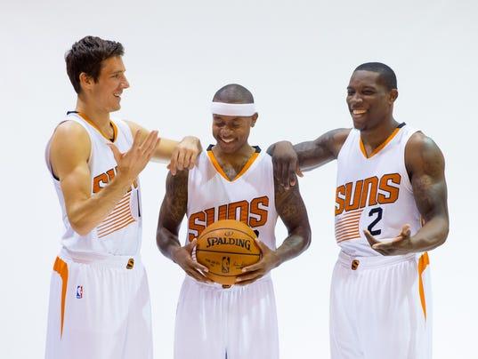 Phoenix Suns Media Day