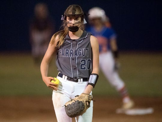 Farragut's Cameron Young pitches against William Blount