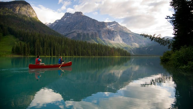 Located in Yoho National Park in B.C.