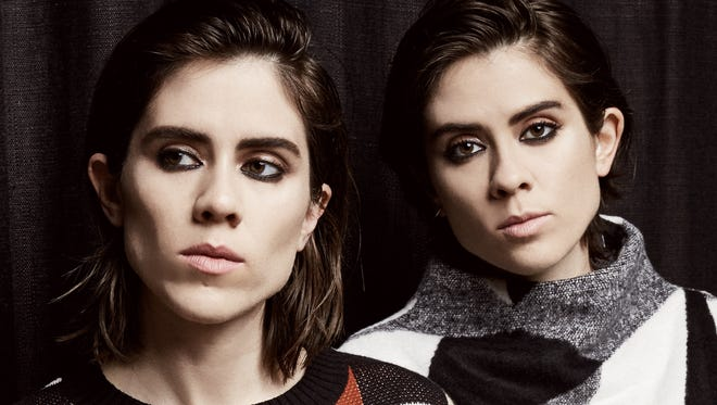 Tegan and Sara play the Madison Theater in Covington Wednesday.