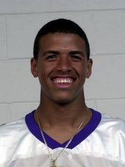 Miles Austin in 2001, when he played football for Garfield High School.