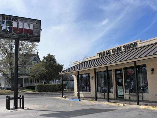 Owner of Texas Gun Shop Ken Thomas said the store will not making any changes to the sale of guns at the location.