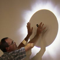 Eclipse viewing event at Stonecipher Astronomy Center in Sturgeon Bay