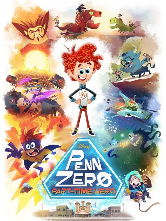 Penn Zero art