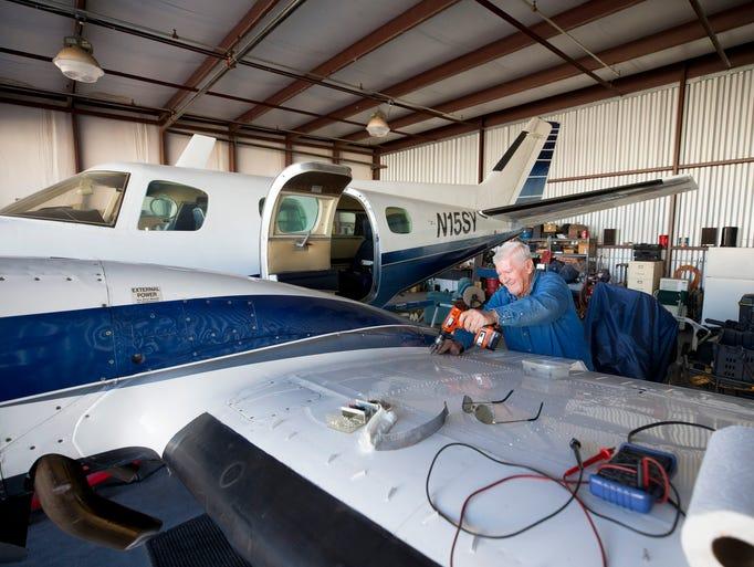 Richard Goldman, President of Glendale Airport Pilot
