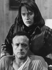 James Caan and Kathy Bates in 'Misery.'
