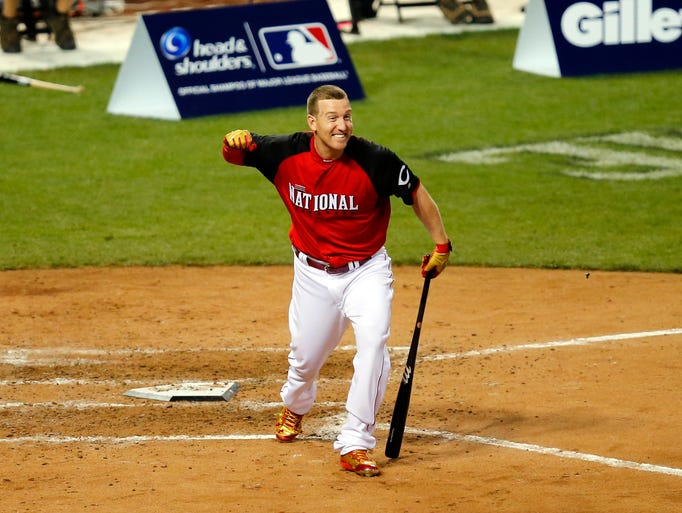 Todd Frazier, Great American Ball Park, 2015: Reds