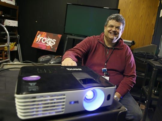 Steve Cali is the audio visual technician at the Rochester Museum and Science Center in Rochester.