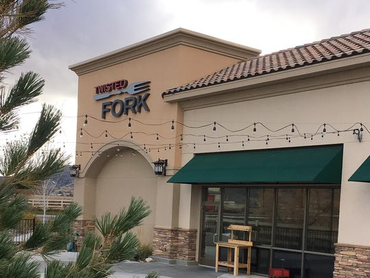 The Twisted Fork restaurant seen in 2015.