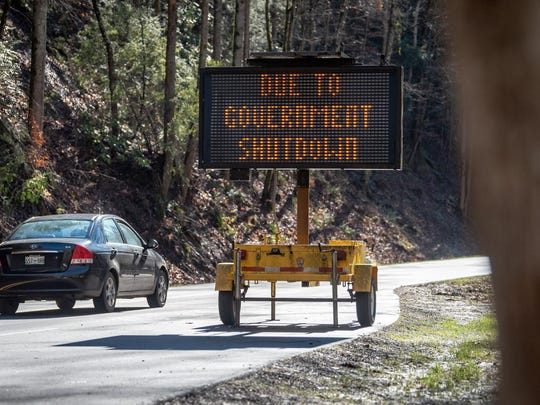 The National Park Service said it was working on reopening