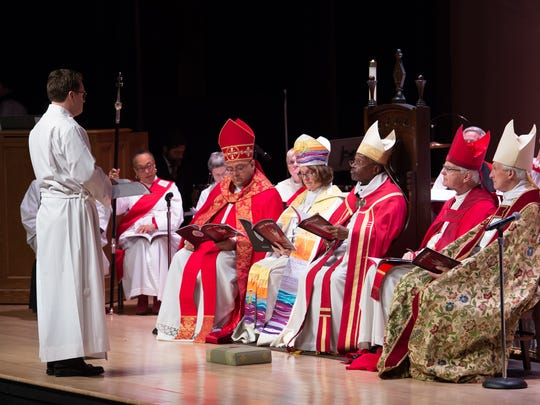 Kevin Brown ordained and consecrated as the 11th bishop of the Episcopal Diocese of Delaware during a ceremony at Delaware State University.