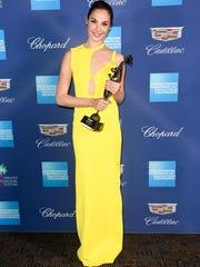 'Wonder Woman' actress Gal Gadot received the rising