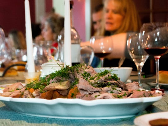 About 30 people attended a recent five-course Italian dinner at Agricola farm in Panton. The farm hosts meals monthly.