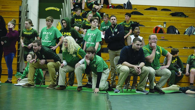 Coaches, wrestlers and fans have created a family-supportive atmosphere within the Liberty Middle School wrestling program, which has seen exponential growth for this season in Pratt.