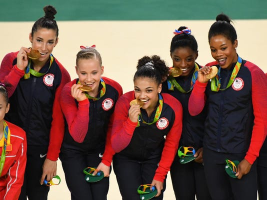 Olympics: Gymnastics-Women's Team Finals