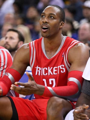 Rockets center Dwight Howard has not been pleased with his team's defense to start the season.