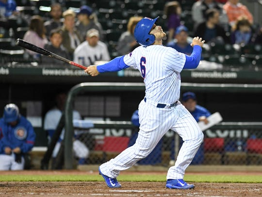 Outfielder Mark Zagunis is back for another season