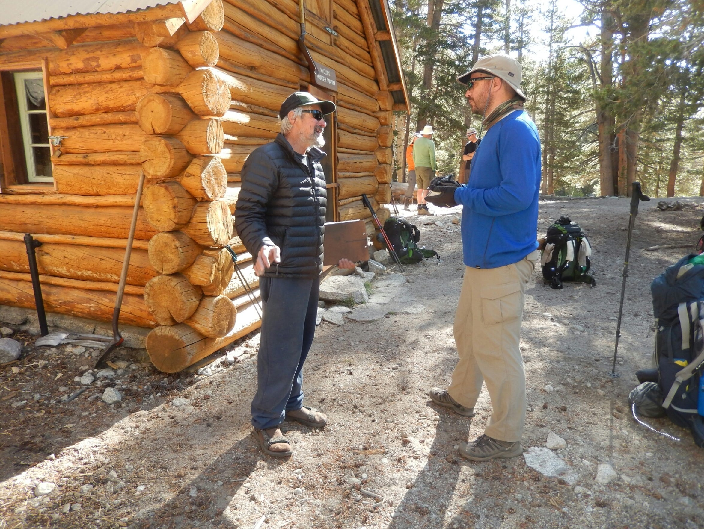 Chatting with Sequoia Kings National Park backcountry