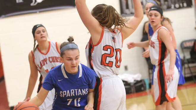 St. Peter's Sophie Tridico will be one of two senior leaders for the Lady Spartans this season.