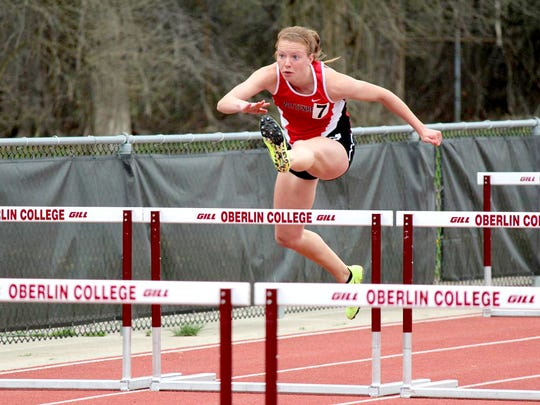 Wittenberg senior Becah Delp, an Eastern York graduate, was recently named North Coast Athletic Conference Field Athlete of the Week.