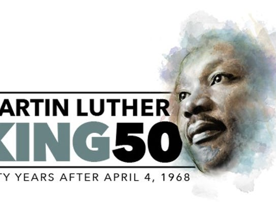 MLK50 logo