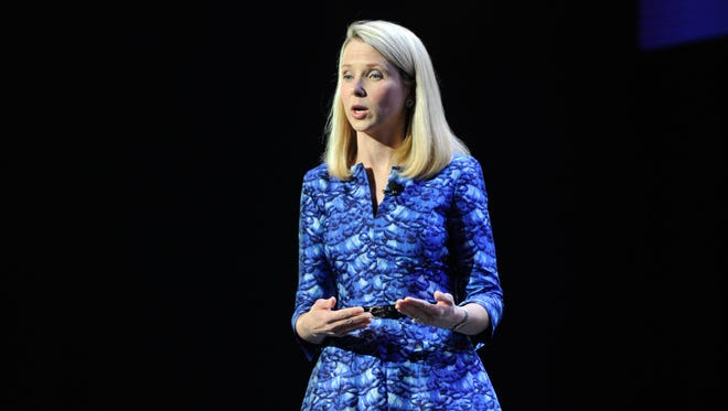 CEO Marissa Mayer of Yahoo.