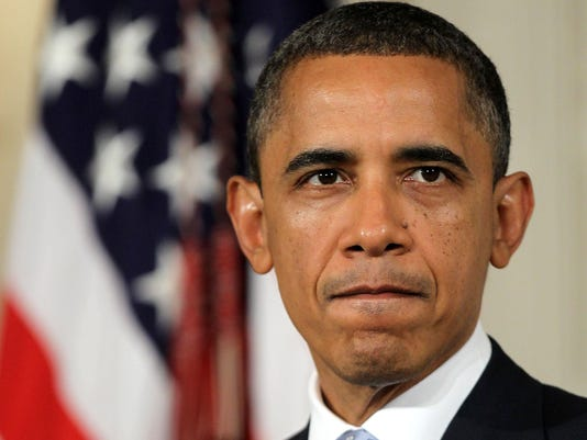 Obama Makes A Statement To Press At White House