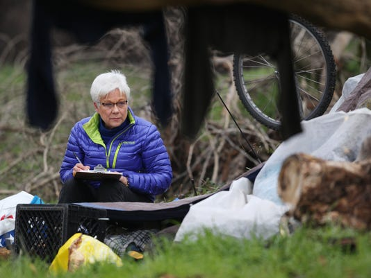 Redding, Point In Time Homeless count
