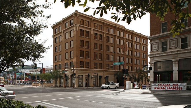 """The Barrister Place was once the Jefferson Hotel, where the opening shot of """"Pyscho"""" was filmed."""