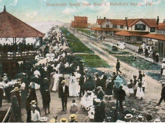 A Rehoboth Beach postcard.